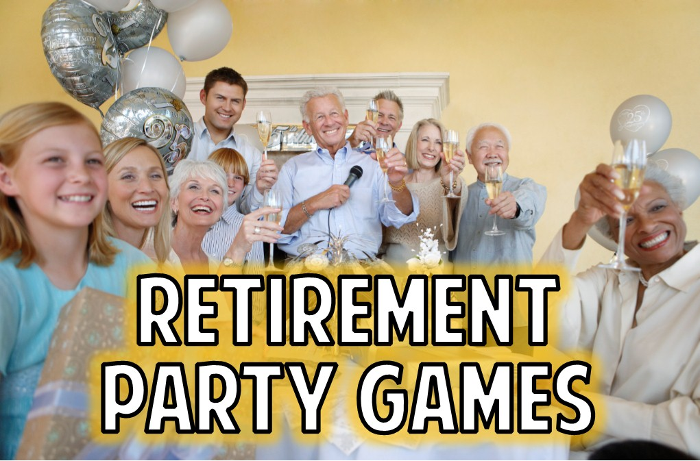 picture about Retirement Party Games Free Printable called Retirement Social gathering Video games towards rejoice the following stage!
