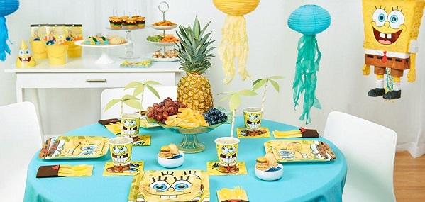 DIY Spongebob Party Games Ideas