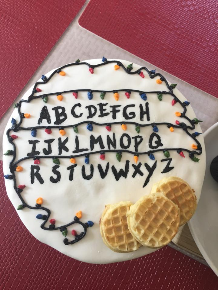 Stranger Things Cake Birthday