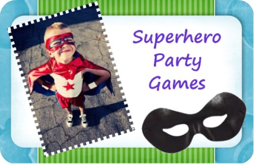 Awesome Superhero Birthday Party