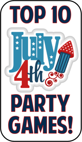 Do you want to make sure your 4th of July party rocks? Including some  simple and affordable games into your plans will break the ice among your  guests and ...
