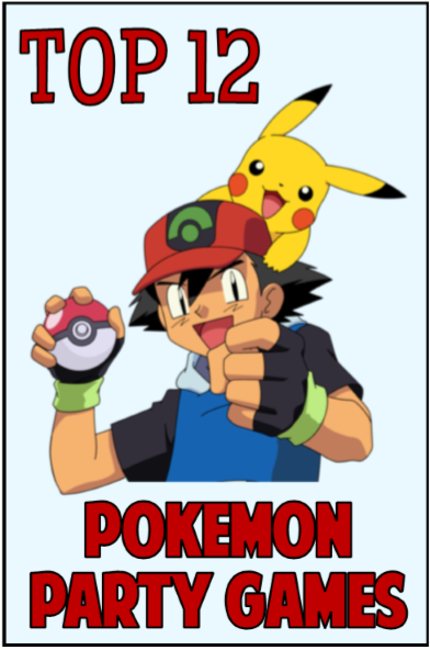 It is a picture of Printable Pokemon Party Games for party favor