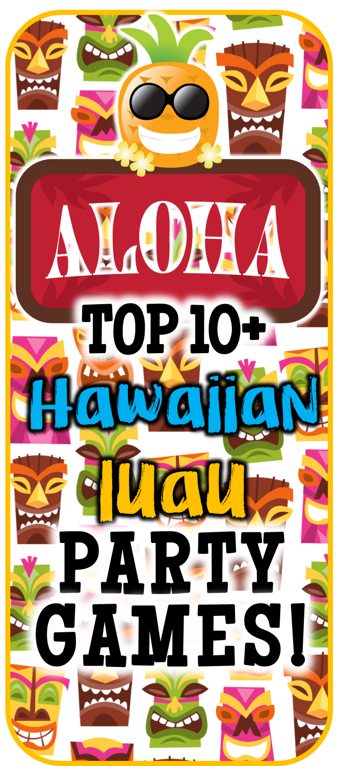 picture regarding Printable Luau Party Games identified as Do-it-yourself Hawaiian luau get together game titles