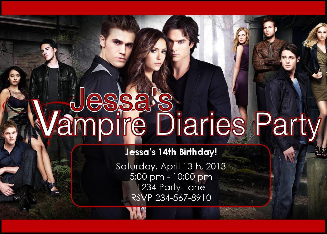 Google themes vampire diaries - Vampire Diaries Party Supplies