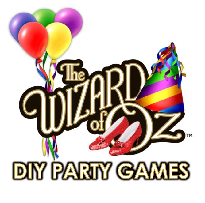 DIY Wizard of Oz party Games  sc 1 st  Queen of Theme Party Games & Creative Wizard of Oz Games for your Kids Wizard of Oz Theme Party!