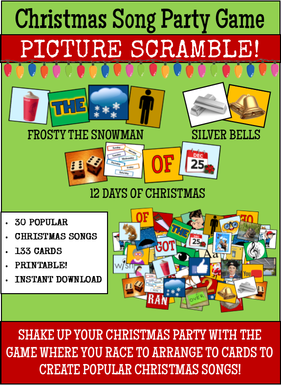 graphic about Free Printable Women's Party Games referred to as Xmas Supper Get together Video games and Guidelines!