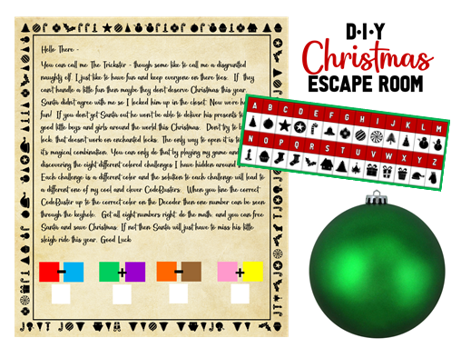Diy Christmas Escape Room Plan Step By Step Instructions