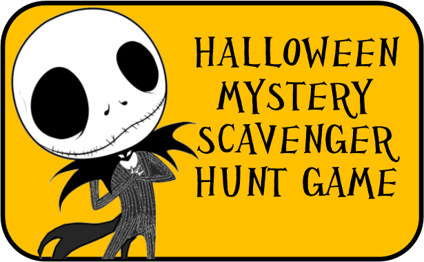 Clued In Murder Mystery Scavenger Hunt Printable Party Game