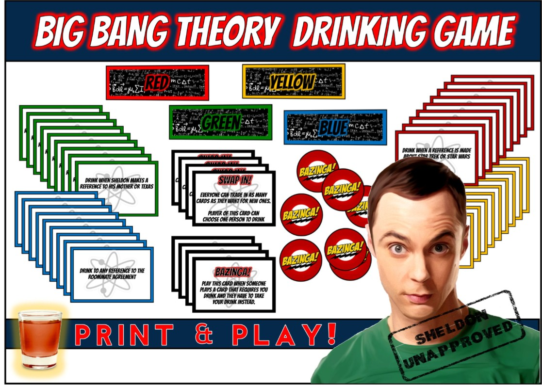 the big bang theory games online