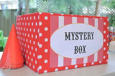 DIY CARNIVAL THEME PARTY GAMES Mystery Box