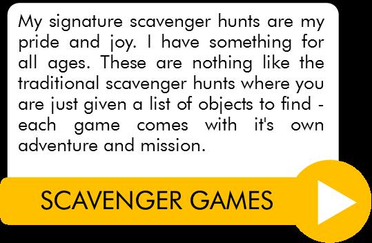 Complete List Of Printable Scavenger Treasure Hunt