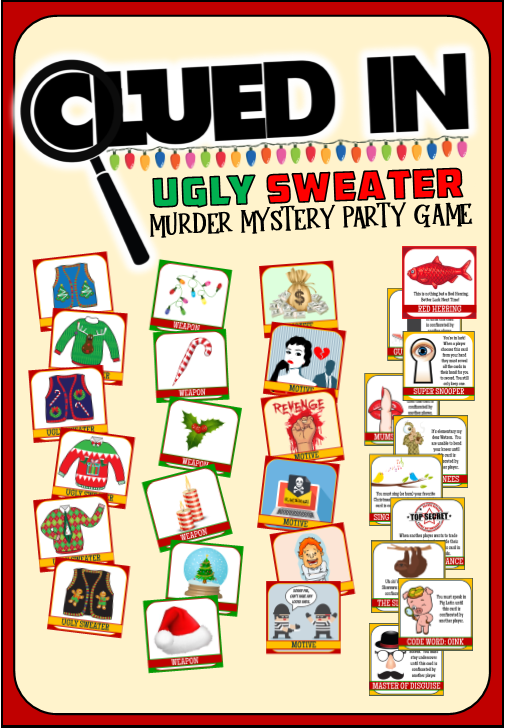 Christmas Dinner Party Games and Ideas!