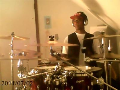 Myself on the Drums.