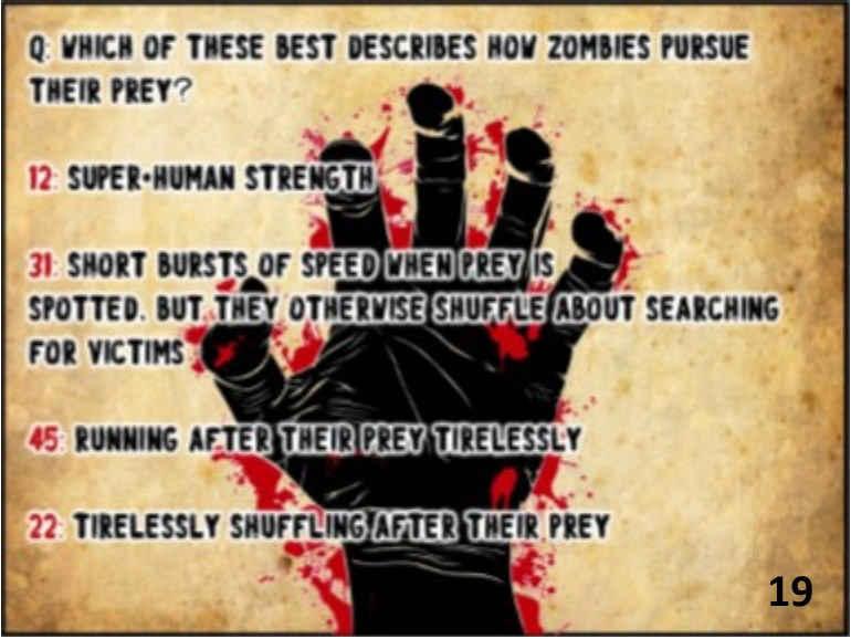 Zombie Apocalypse Game Printable Scavenger Hunt For Your