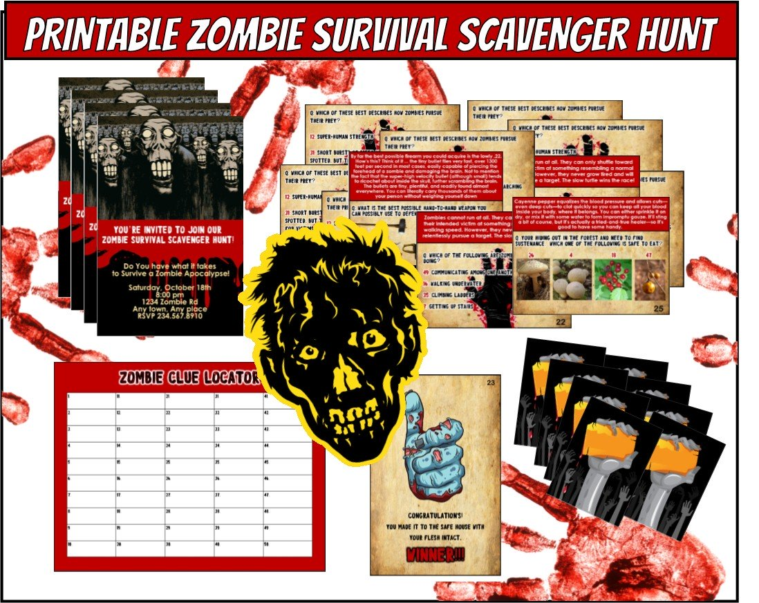Top 12 Walking Dead Party Games and Ideas